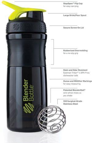 Blender Bottle Sportmixer 800 ml.