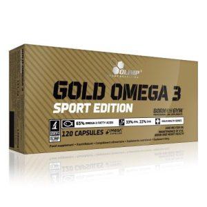 Olimp Gold Omega 3 Sport Edition 120 kaps.